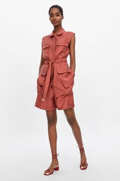 Mode Outfits, Short Outfits, Fashion Outfits, Womens Fashion, Safari Look, Bermuda Shorts Outfit, Safari Dress, Shorts With Pockets, Pocket Shorts