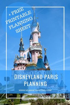 Are you heading off to Disneyland Paris soon? Grab your free planning printable here!