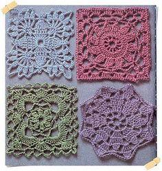 4 granny squares
