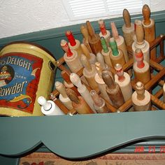 Old Wooden Rolling Pins - Kitchen