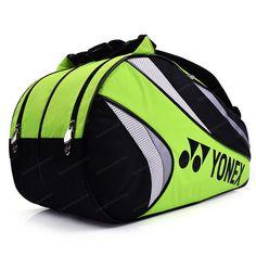 YONEX Tennis Badminton Bag 2 Packs Rucksack Green Racquet Racket Squash 69BR005U #YONEX Yonex Tennis, Tennis Gear, Badminton Bag, Ebay