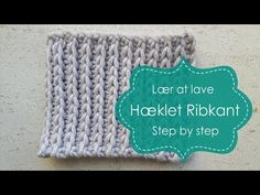 Captivating All About Crochet Ideas. Awe Inspiring All About Crochet Ideas. Fast Crochet, Ribbed Crochet, Learn To Crochet, Diy Crochet, Crochet Square Patterns, Crochet Stitches Patterns, Crochet Designs, Knitting Patterns, Beginner Crochet Tutorial