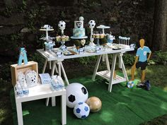 Soccer Birthday Party Ideas | Photo 1 of 50 | Catch My Party