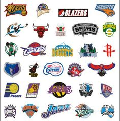 NBA Teams Logo | NBA | Pinterest | Team logo, Sports and ...