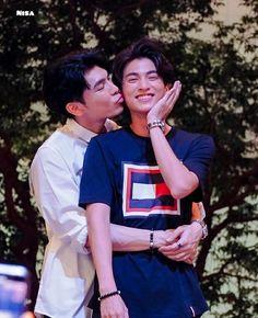 Kiss Face, Cute Asian Guys, Cute Gay Couples, Closed Eyes, E Type, Thai Drama, My Memory, Asian Men, My Boys