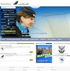 Le nouveau site web de Tassiliairlines tassiliairlines.aero