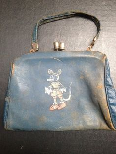 Child's Antique Mickey Mouse Purse