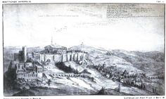Viexw of the Capitol in Athens . Period 1670 ( Travel book from a german traveller)