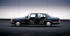 Mercedes-Benz-Passion Bildergalerie - Einzelansicht: 560 SEL offen