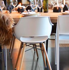 Papatya wooden chair, dining chair, restaurant chair