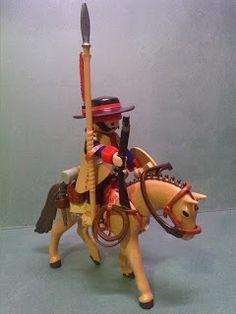 BELLUMARTIS MINIATURAS MILITARES: DRAGONES DE CUERA DE PLAYMOBIL Equine Art, Medieval Art, Wild West, Fantasy Art, History, Toys, Kid Stuff, Leo, Brick