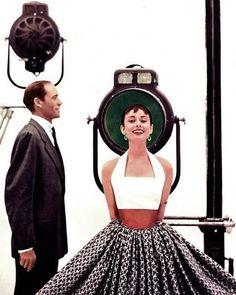 Audrey Hepburn and Mel Ferrer, c. 1953 – 5 Bilder