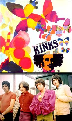 """The Kinks """"Face to Face"""" (1966) LP"""