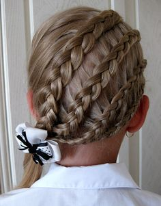 little girl triple double hairstyles