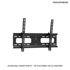 $19.00 from $40.80 Tilting Wall Mount Flat Panel TVs - Assorted Styles at 53% Savings off Retail!