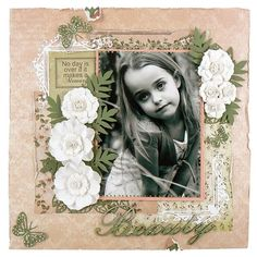 Beauty Layout Class with Tracey Cooley at Scrap Elegance