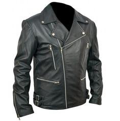 Leather Brando Marlon Brandos The Wild One Black Biker