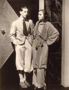 Hollywood costume designer Adrian posing here with Greta Garbo Golden Age Of Hollywood, Vintage Hollywood, Hollywood Glamour, Classic Hollywood, Hollywood Actresses, Harlem Renaissance, Katharine Hepburn, Jean Harlow, Costume Année 30