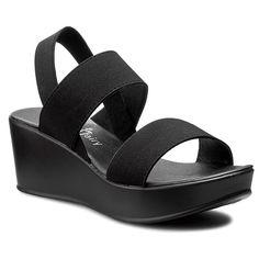 Sandały JENNY FAIRY - WS007-6 Czarny