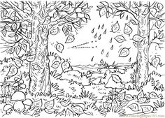 157 Best Coloring Pages - Autumn, Halloween, Pumpkins, Witches ...