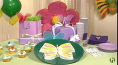 Learn how to make a beautiful #butterfly #cake for your #child's #birthday #party.