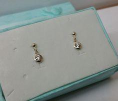 Kristall-Ohrstecker Ohrringe 925 Silber KO142 von myduttel auf Etsy