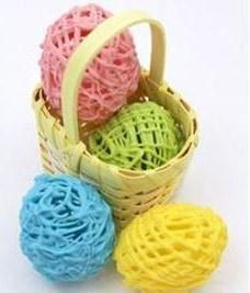 Click Pic for 50 Easter Crafts for Kids - Hollow Chocolate Eggs - Easter Craft Ideas for Preschoolers