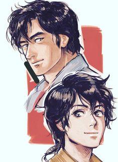 Character Model Sheet, Character Modeling, Manga Anime, Anime Art, Nicky Larson, Hunter Anime, City Hunter, Fan Art, Comics