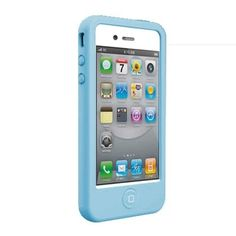 Чехол SwitchEasy Colors Blue Синий для IPhone 4&4s