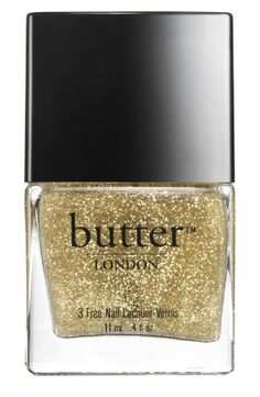 Gold glitter nail polish ohgoodiedesigns