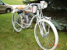 Gallery: Homemade Motorized Bike Pays Tribute to Motorcycles of Yesteryear