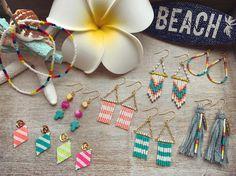 いいね!102件、コメント9件 ― happyyachikoさん(@happyyacho)のInstagramアカウント: 「beads accessory ☆ ☆ #ハンドメイド#ハンドメイドアクセサリー#ハンドメイドピアス #ビーズ#ビーズステッチ…」