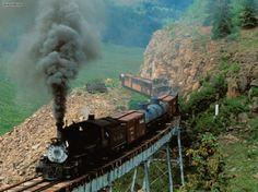 Cumbres Toltec Scenic Railroad Cascade Creek Colorado