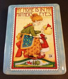 "MUST HAVE Mary Engelbreit ""MOTHER'S EYES"" TIN"