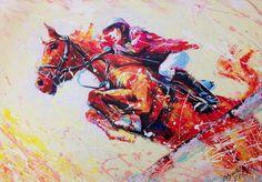 Экспрессивная картина выполнена акриловыми красками на холсте