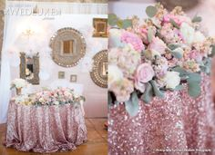 design minded: WEDLUXE feature + Lindsay & Brad