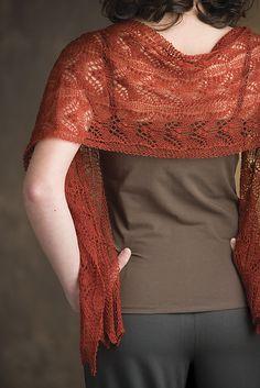 triinu scarf by nancy bush
