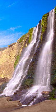 Alamere Falls in Point Reyes National Seashore, California