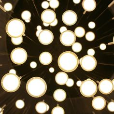 Wonderoled by Blackbody  European lighting exhibit using new OLED lighting -- love the rain drops the most