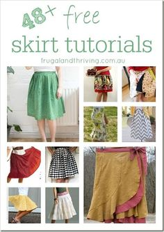 48 + Free Skirt Tutorials |  #free #Skirt #Tutorials