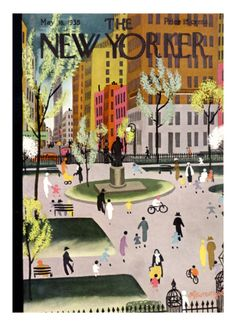 The New Yorker Cover - May 18, 1935 Giclee Print by Adolph K. Kronengold at Art.com