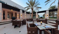 360° Virtual Tour | The Restaurant Courtyard | Luxury Dining | The Chedi Muscat | Luxury Hotels Oman | Panoramic Tour