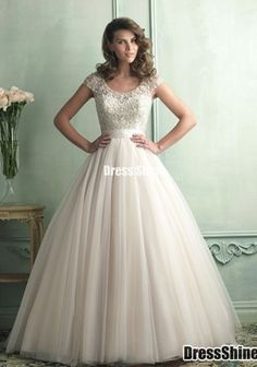 I don't know about this as a wedding dress, but it is pretty!