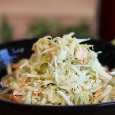 Coleslaw - the American coleslaw - Maria, I like it! - Coleslaw – the American coleslaw – Maria, I like it! Keto Foods, Keto Recipes, Dinner Recipes, Crockpot Recipes, Burger Recipes, Easy Recipes, Healthy Recipes, Cena Keto, A Food