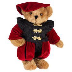"15"" Romeo Bear from Vermont Teddy Bear. $99.99 #ValentinesDay #Gift #TeddyBear"
