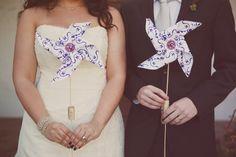 pinwheels, purple wedding, stephanie williams photography