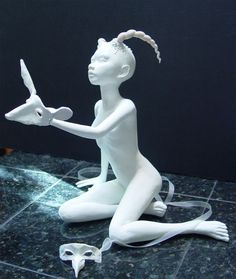 Fantasy | Whimsical | Strange | Mythical | Creative | Creatures | Dolls | Sculptures | ☥ | Pat  Lillich