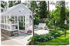 Sinisen talon kuulumisia: kasvihuone