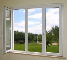 UPVC windows and doors for Home improvement French Casement Windows, Upvc Windows, Aluminium Windows, Sliding Windows, Wood Windows, Windows And Doors, House Windows, Window Grill Design, Window Replacement
