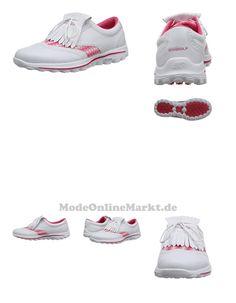 0884390965817 | #2016 #Ladies #Skechers #Go #Golf #Kiltie #Leather #Womens #Street #Golf #Shoes #White/Pink #4UK